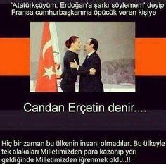 Atatürkçülük ile Erdoğan 'ın ne alakası var.... Ben Erdoğan yandaşıyım ama ona şarkı söylüyor muyum!?!?!?