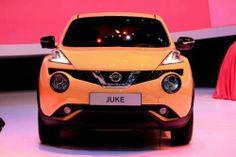 Обновленный Nissan Juke дебютировал в Женеве. Сегодня открылся международный автосалон в Женеве, на котором компания Nissan представила свой обновленный кроссовер Juke. Помимо незначительных изменений в экстерьере обновленный Juke получил 1,2-литровый турбированный мотор