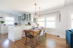 See how Jillian Harris, the co-host and interior designer from HGTV's Love It or List It, Too, easily reimagines outdated spaces and turns them into modern miracles.