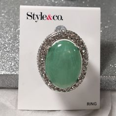 Style & Co stretch ring Silver tone stretch fashion ring Style & Co Jewelry Rings