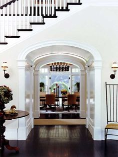LA CANADA DUTCH COLONIAL Photography by David Phelps Studio Interior Design by Tommy Chambers. Architect William Murray of Chambers and Murray, Inc. Builder John Finton of Finton Associates, Inc