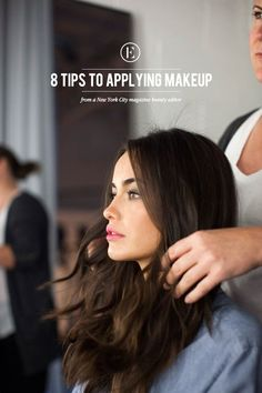 A Beauty Editor's Best Tricks of the Trade - how to apply makeup, mascara, lipstick, nail polish