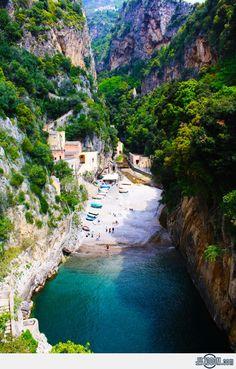 Secluded Beach, Furore, Amalfi – Italy