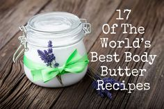17 Of The World's Best Body Butter Recipes, check out edible cocoa body butter, these are great recipes!