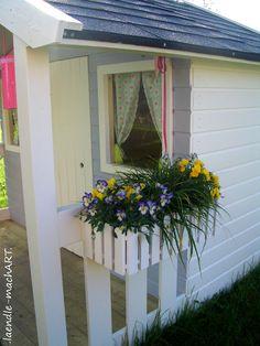 Great Gartenhaus Spielhaus Kinderspielhaus Kindergartenhaus DIY selber machen gestalten selber