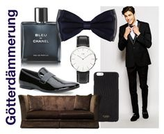 Gotterdämmerung by operawithpearls on Polyvore featuring Calvin Klein, Daniel Wellington, Barneys New York, Vianel, Chanel, men's fashion and menswear