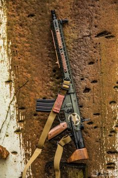 Wood AR-15 Build U.S. Army Veterans