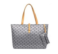 New Trending Shoulder Bags: Micom Women Euro Style Signature Printing Large Canvas Tote Bag Tote Shoulder Handbags with Coin Wallet. Micom Women Euro Style Signature Printing Large Canvas Tote Bag Tote Shoulder Handbags with Coin Wallet  Special Offer: $12.96  411 Reviews Signature Large Canvas Tote Bag Tote Shoulder Handbags with Coin Wallet. Add some chic to your style with this beautiful and practical pu leather...