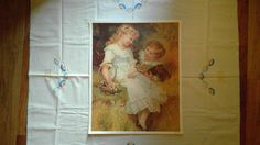 A personal favorite from my Etsy shop https://www.etsy.com/listing/475464496/vintage-sweethearts-giclee-spray-style