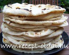 Naan kenyér - Kifőztük, online gasztromagazin Hungarian Recipes, Naan, Cake Cookies, Soul Food, Vegetarian Recipes, Bakery, Paleo, Food And Drink, Favorite Recipes