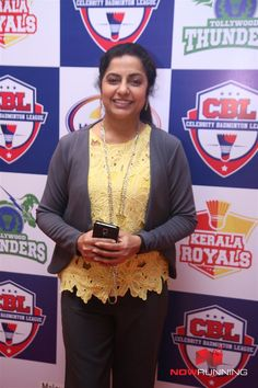 Suhasini Maniratnam at Celebrity Badminton League