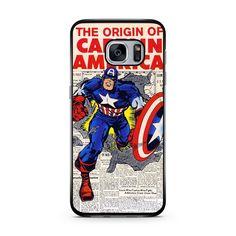 Buy Captain America Comic Samsung Galaxy Case #iphonecase #iphone6case #phonecases
