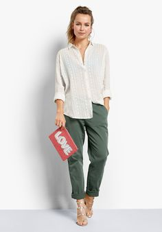 Buy Faye Tunic Shirt from Hush: Make a subtle statement this season in our contemporary lightweight sheer shirt. With it's stylish geometric embroidered pattern, simply pair with our Chinos for everyday.