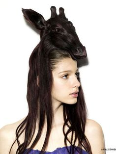 'Hair hat' by Nagi Noda