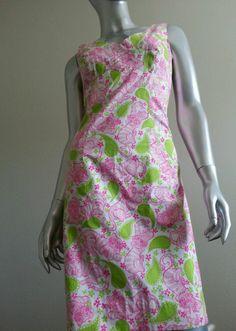 LILLY PULITZER Pink Green Tiger Print Sheath Dress Sz 2 *Worn Once* #Dress #Fashion #Deal