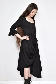 2e1b1e9ca3c Pastorale Dress w Half Sleeve in Organic Cotton (Limited Edition)