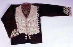 Bagobo Jacket Abaca, Shell Sequins