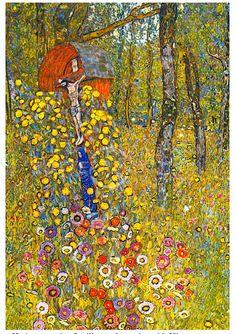 Gustav Klimt 1911 Farmers Garden with Crucifix