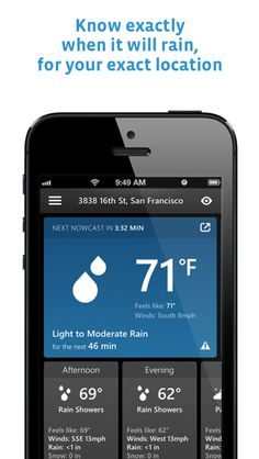 It's a crowded space when it comes to weather apps, see what makes SkyMotion different! When It Rains, Rain Shower, Cool Tech, Whats New, Told You So, Things To Come, Apps, Weather, Space