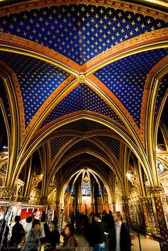 Entrance to St Chapelle Paris by Joshua Gunther. I tried twice to see it, but couldn't get in.