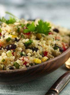 Gluten Free Quinoa with Black Beans