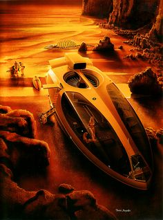"Sci-fi illustration by Shusei Nagaoka -- ****If you're looking for more Sci Fi, Look out for Nathan Walsh's Dark Science Fiction Novel ""Pursuit of the Zodiacs."" Launching Soon! PursuitoftheZodiacs.com****"