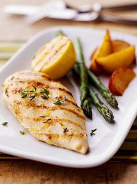 Grilled Lemon Chicken Recipe...mmmm. love cooking with Lemon!