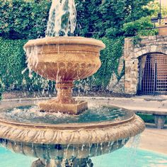 Alumni Place Fountain
