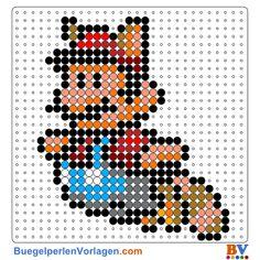 Mario Bros Bügelperlen Vorlage. Auf buegelperlenvorlagen.com kannst du eine große Auswahl an Bügelperlen Vorlagen in PDF Format kostenlos herunterladen und ausdrucken.