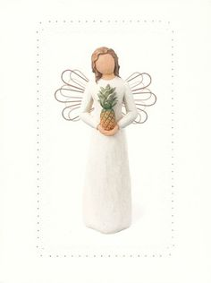 Welcoming Angel, Willow Tree Greeting Cards