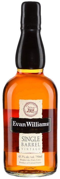 Heaven Hill Distilleries - Evan Williams Single Barrel Vintage Kentucky Bourbon - Code SAQ:10288247