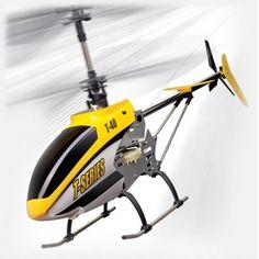 Zdalnie sterowany Helikopter T640C 3ch 2,4Ghz + Kamera - Wyprodukowany został przez firmę MJX. Nadaje się do lotów na zewnątrz i wewnątrz dużych pomieszczeń. Wyposażony został w Kamerę, kabinę z diodami LED. Opis, dane techniczne, komentarze oraz film Video znajdziesz na naszej stronie, nie ma jeszcze komentarzy, to czemu nie zostawisz swojego:)