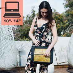 Asia Shoulder Bag - Gold Black  ad241043f9126