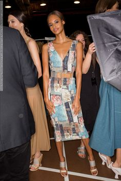 Donna Karan (Spring-Summer 2015) R-T-W collection at New York Fashion Week (Backstage)  #DonnaKaran #NewYork