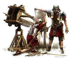 Roman Siege Catapult