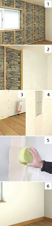 Internal Solid Wall Insulation installation process