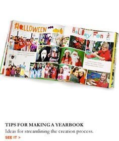 Tips for Making an Elementary School Yearbook