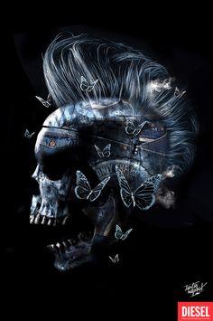 FANTASMAGORIK® Skull Denim by obery nicolas