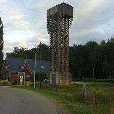 Luchtwachttoren bij Winschoten