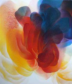 "Saatchi Art Artist Prakornpatara Janthakhaisorn; Painting, ""Form of Desire 3 / 2015"" #art"