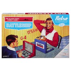 Battleship Game Retro Series 1967 Edition