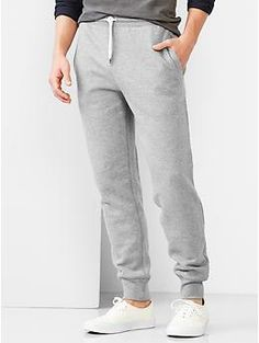 Lived-in heavyweight fleece pants