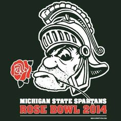 #SpartyOn #rosebowl #rosebowlbound #michiganstate #b1g #bcs #msu #Padgram