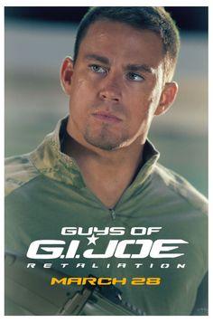 Channing Tatum is Captain Duke in G.I. Joe: Retaliation. #GuysOfGIJoe
