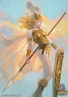 Lets find a tarot card for this character? Valkyrie Brynhildr By Tsuyoshi Nagano Fantasy Girl, Chica Fantasy, Fantasy Warrior, Fantasy Women, Character Inspiration, Character Art, Vikings, Goddess Art, Athena Goddess