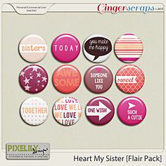 Heart My Sister [Flair Pack]