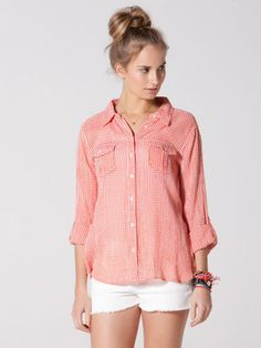 Micro gingham shirt C-C California