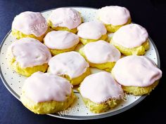 Light and airy lemon cookies made with a cake mix base.  Creamy icing is smooth with a subtle raspberry flavor.  A great alternative to your chocolate-loaded cookies.