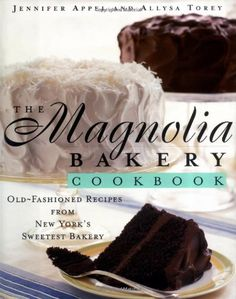 The Magnolia Bakery Cookbook: Old-Fashioned Recipes From New York's Sweetest Bakery by Jennifer Appel http://www.amazon.com/dp/0684859106/ref=cm_sw_r_pi_dp_Sbwcxb0RBMNFF