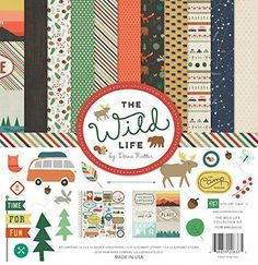 Echo Park Paper Company The Wild Life Collection Kit Echo